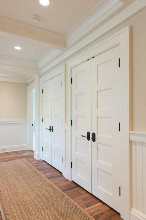 Einrichtungsideen für die Zimmertüren blasse wandgestaltung