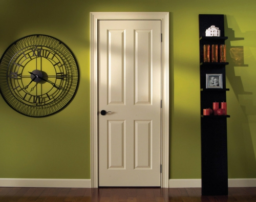 Neue Einrichtungsideen für die Zimmertüren wanduhr bemerkenswert