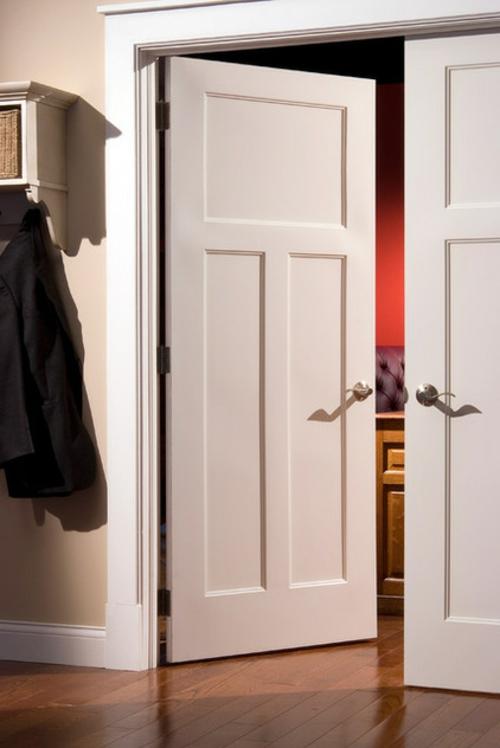 Neue Einrichtungsideen für die Zimmertüren weiß