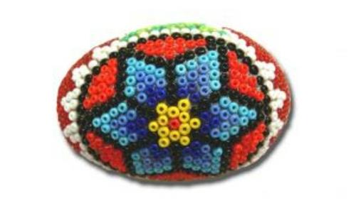 Ostereier Perlen verziert originell methode figuren