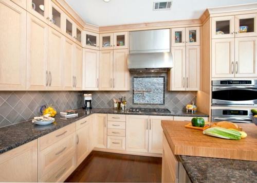 Praktische Einrichtungsideen für Küchen küchenrückwand fliesen