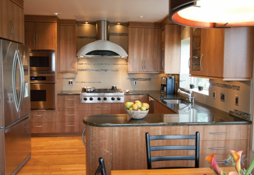 Praktische Einrichtungsideen für Küchen  kühlschrank