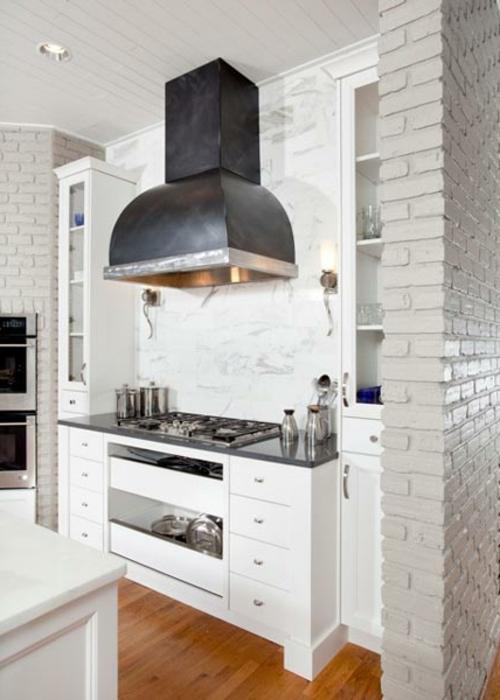 Praktische Einrichtungsideen  Küchen weiß ambiente