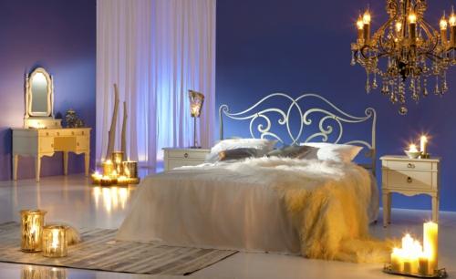 Schlafzimmer romantisch kerzen  20 Ideen für mehr Romantik im Schlafzimmer zum Valentinstag