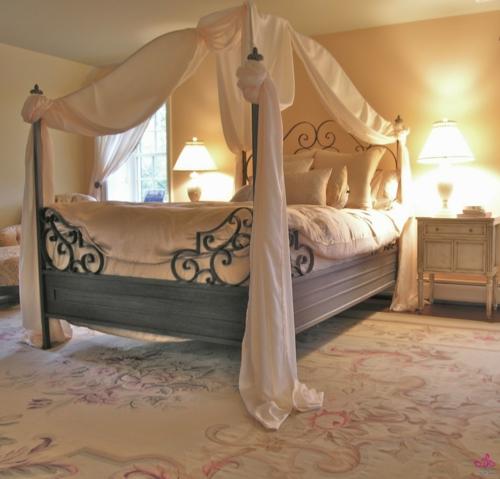 Romantik Schlafzimmer zum Valentinstag nachttischlampe