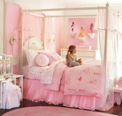Rosa Kinderzimmer Gestalten Ruhe Und Sanftheit Ausstrahlen