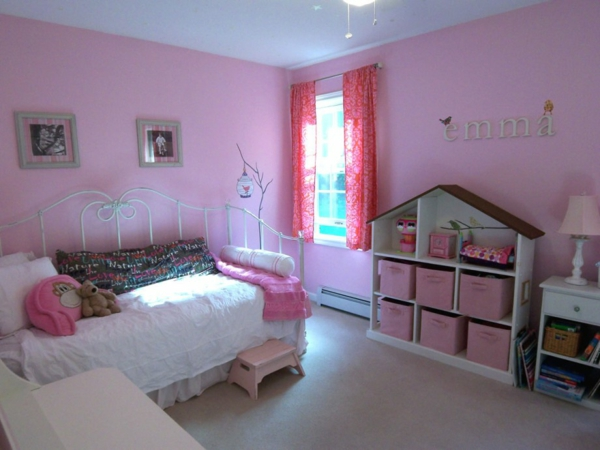 rosa kinderzimmer gestalten ruhe und sanftheit ausstrahlen. Black Bedroom Furniture Sets. Home Design Ideas