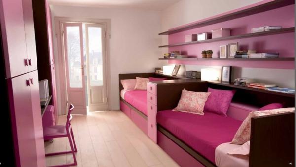 Gestalten Sie rosa Kinderzimmer für kleine Prinzessin ...