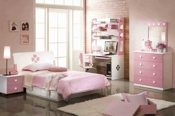 Rosa Kinderzimmer gestalten - Ruhe und Sanftheit ausstrahlen