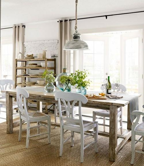 esstische im landhausstil mit st hlen f rs esszimmer. Black Bedroom Furniture Sets. Home Design Ideas
