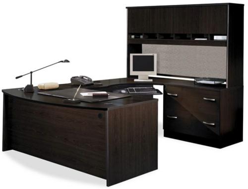 Schreibtisch holz dunkel  Schreibtische und Computertische günstig kaufen