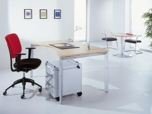 Schreibtische  Computertische günstig weiß büroausstattung
