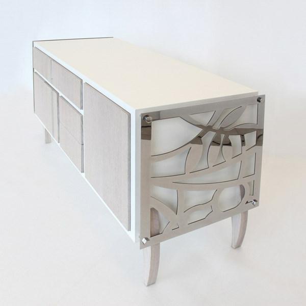 Sideboards und Kommoden kleiderschrank metall motive