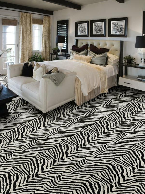 12 ideen, wie man einen teppich im wohnzimmer integrieren kann, Hause deko