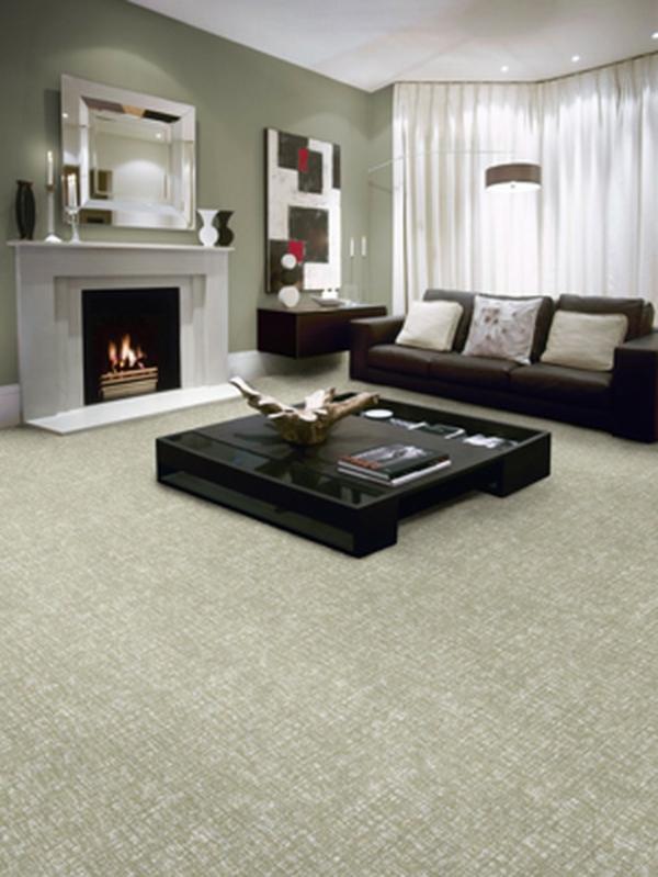 Teppich  Wohnzimmer zeitgenössisch warm ambiente