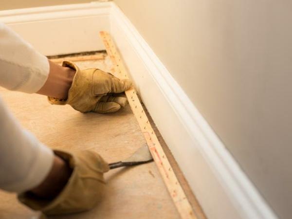 Teppichboden entfernen materialien aufmerksam