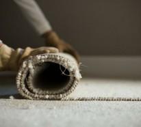 Wie kann man den Teppichboden entfernen