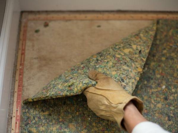 Teppichboden entfernen materialien unterlagen leisten