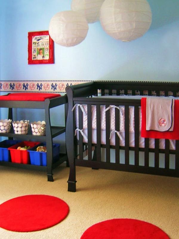 Teppiche und Teppichläufer babyzimmer amerikanisch rot lustig