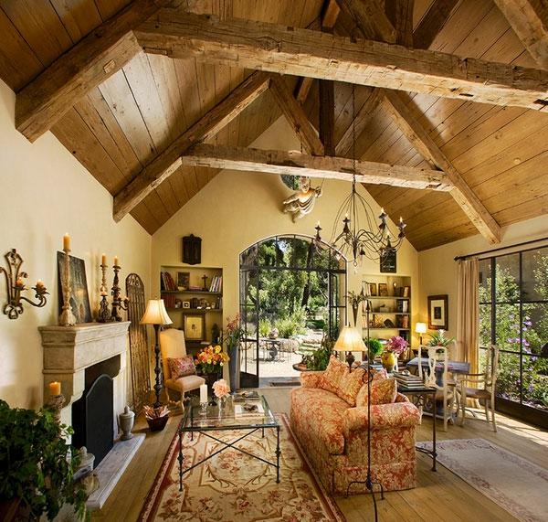 Umweltfreundliche Architektur und Deckengestaltung