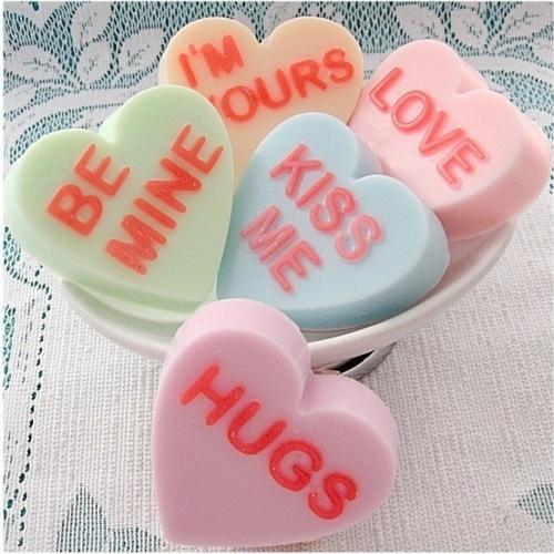 Valentinstag Dekoartikel herzen seifen so stinking sweet