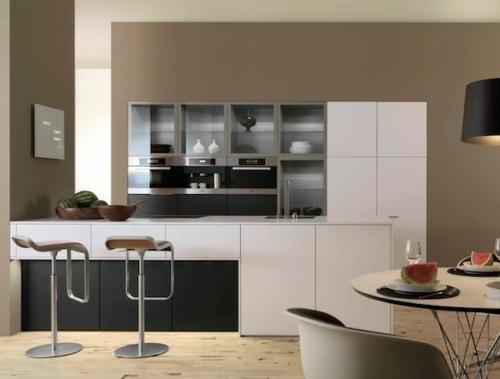 Vitrinenschrank und Glasvitrine ausstellen küchenhocker bodenbelag