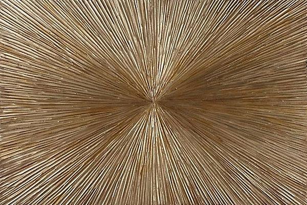 Wanddeko fürs Esszimmer golden gemälde