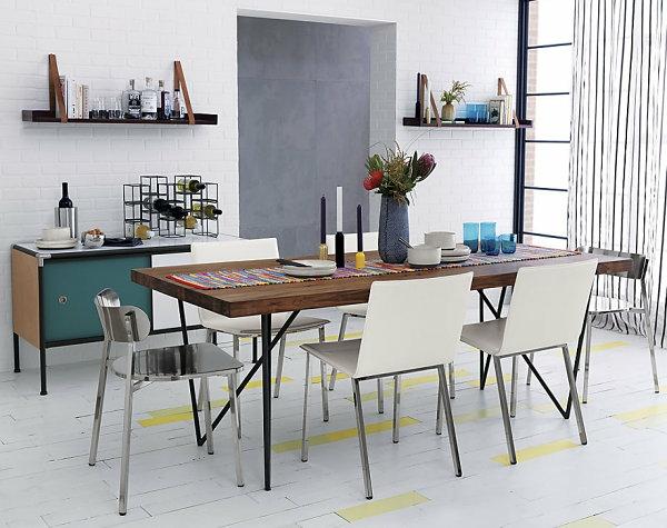Wanddeko Fürs Esszimmer Weiß Bodenbelag Platten