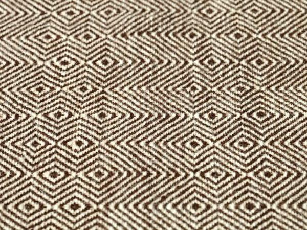 Weiche Teppiche fürs Wohnzimmer klein muster geometrisch