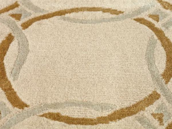Weiche Teppiche fürs Wohnzimmer lang muster geometrisch