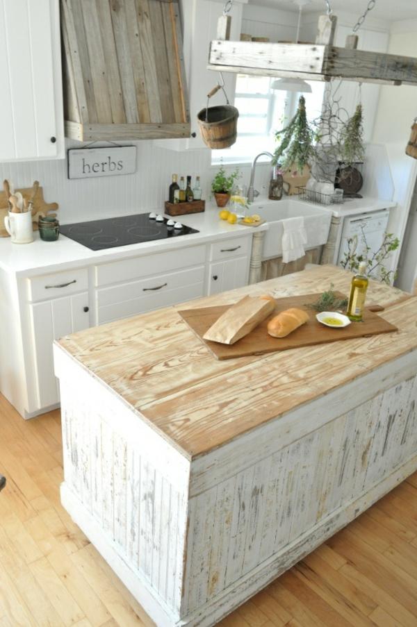 arbeitsplatte servierbrett küche spüle ländlich