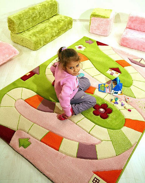 teppiche fürs wohnzimmer und kinderteppichemädchen
