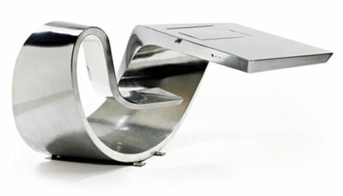 ausgefallene Schreibtische für Ihr Büro metall glanzvoll