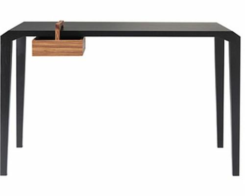 ausgefallene Schreibtische für Ihr Büro schwarz sachlich