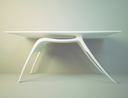 ausgefallene Schreibtische für Ihr Büro weiß hirsch gestalt