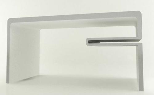 ausgefallene Schreibtische für Ihr Büro weiß minimalistisch