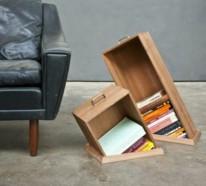 Ausgefallene Bücherregale ausgefallene dekoartikel originelle ideen für ihr interior