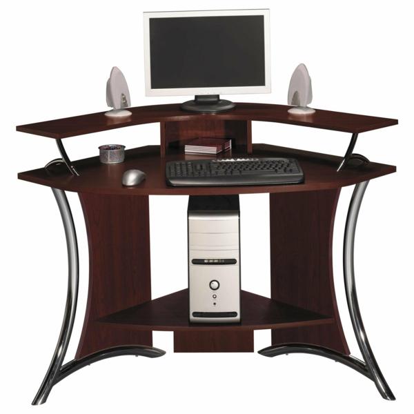 büromöbel design nussbaumholz ergonomisch