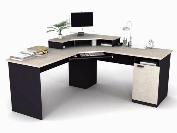 büromöbel design pc tisch geräumig