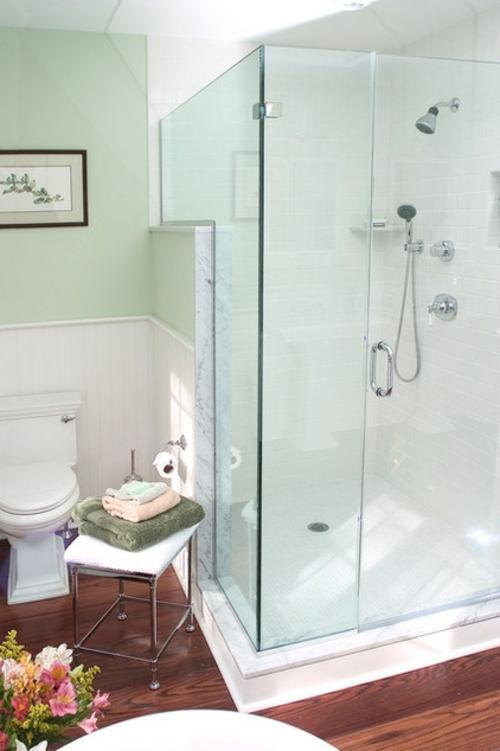 badeinrichtung weiße duschkabine glas