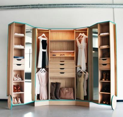 begehbarer kleiderschrank f r eine stilvolle. Black Bedroom Furniture Sets. Home Design Ideas