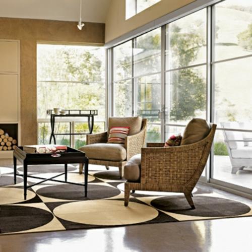 design teppiche kreise muster