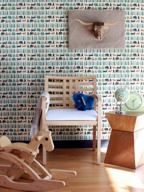k nnen sie die richtigen tapeten nicht finden machen sie diese selbst. Black Bedroom Furniture Sets. Home Design Ideas