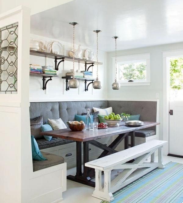 essecke gestalten 20 wundersch ne gem tliche ideen f r ihre k che. Black Bedroom Furniture Sets. Home Design Ideas