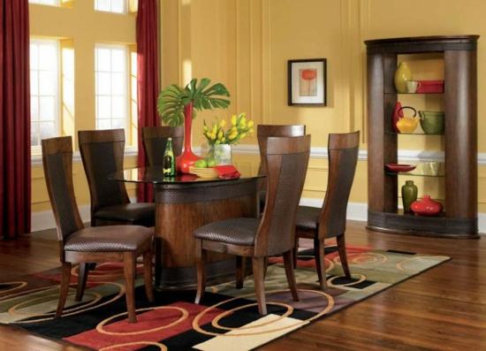 Durch Esszimmer Dekoration können Sie sogar den Appetit ...