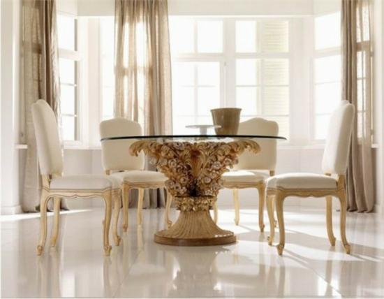 Durch esszimmer dekoration k nnen sie sogar den appetit for Zimmer dekoration rosegold