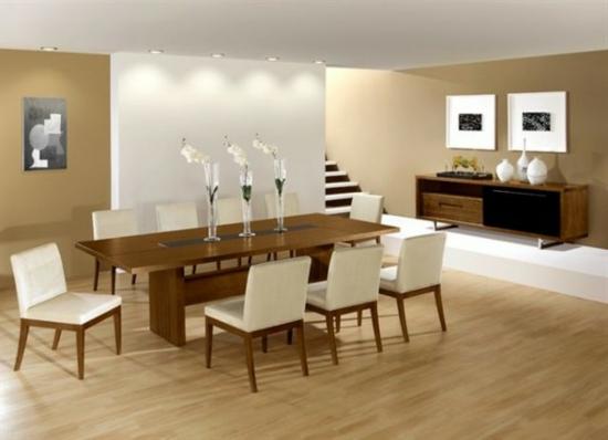 Durch esszimmer dekoration k nnen sie sogar den appetit for Dining room designs modern