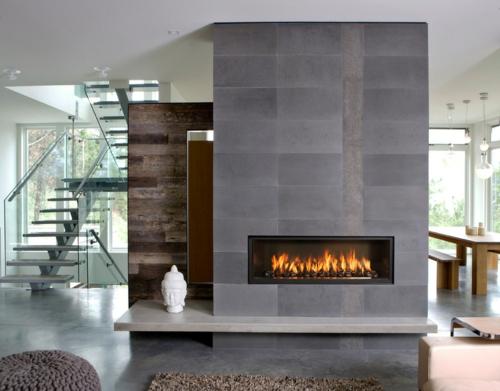 ethanol kamin 10 wundervolle designs in minimalistischem look. Black Bedroom Furniture Sets. Home Design Ideas