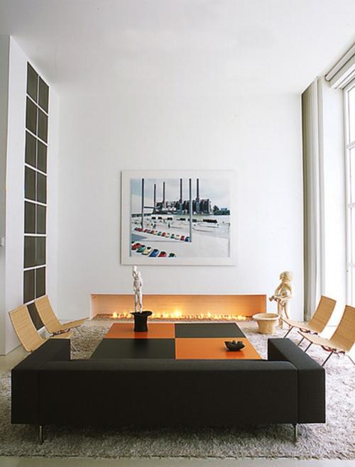 EthanolKamin 10 wundervolle Designs in minimalistischem Look
