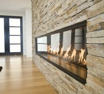 Vorteile und Ideen – Ethanol-Kamin in minimalistischem Look